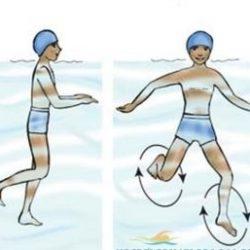 Tập đứng nước là một trong những kỹ thuật cơ bản nhất khi học bơi
