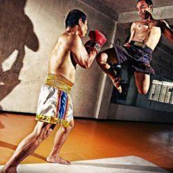 """Kỹ thuật đòn """" gối bay"""" trong Muay Thai ( Kỳ 1)"""