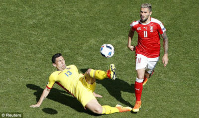 Euro 2016: Kết quả trận đấu Romania vs Thụy Sỹ ngày 15/6